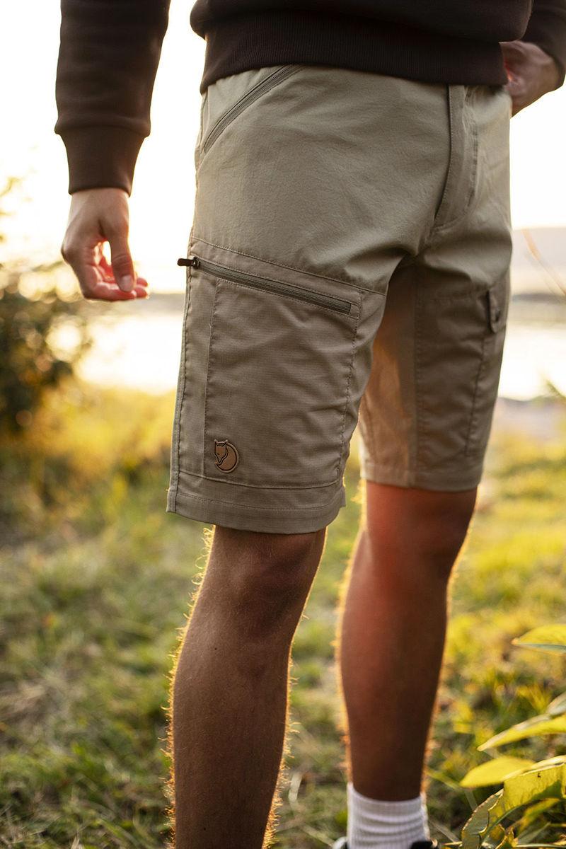 Bilde av Fjällräven  Abisko Midsummer Shorts M 235-622 Savanna-Light Olive