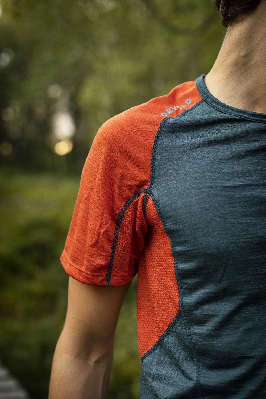 Bilde av Devold  Running Man T-Shirt 440A Pond