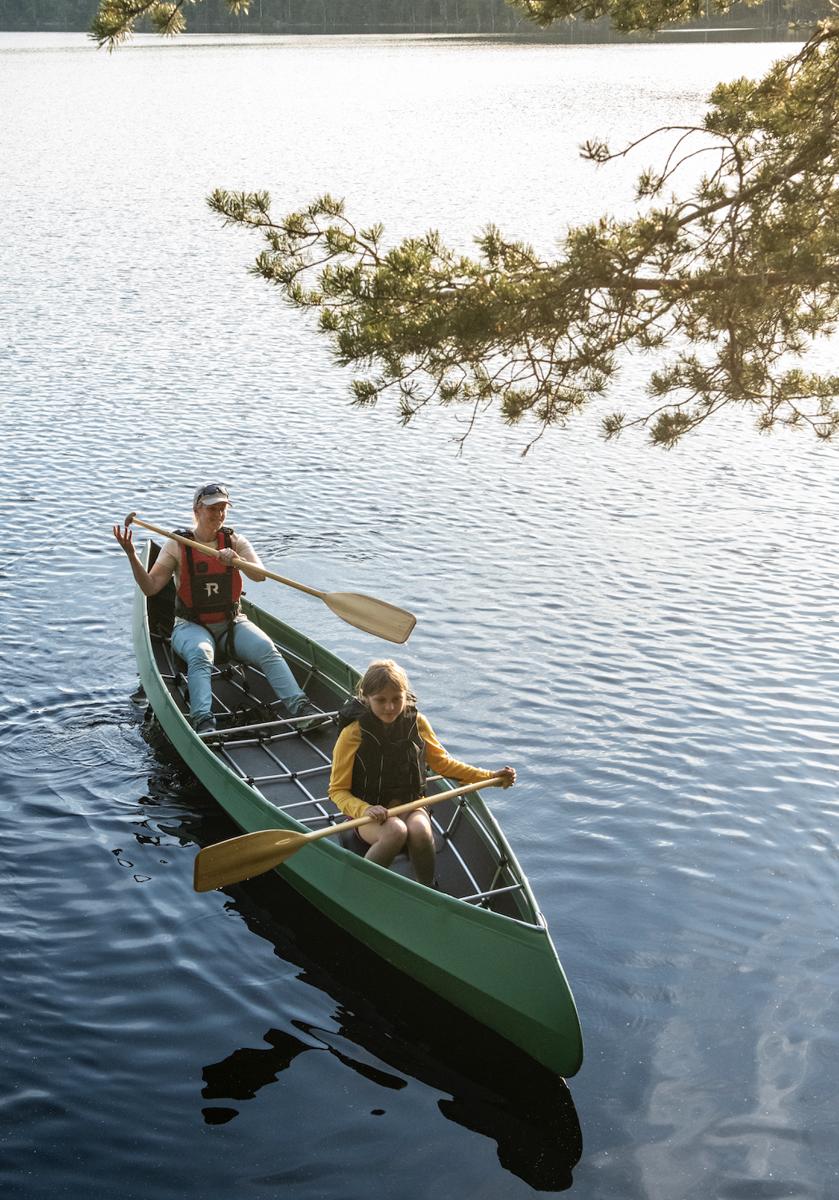 Bilde av Bergans  Ally Folding Canoe 16.5 DR GRØNN