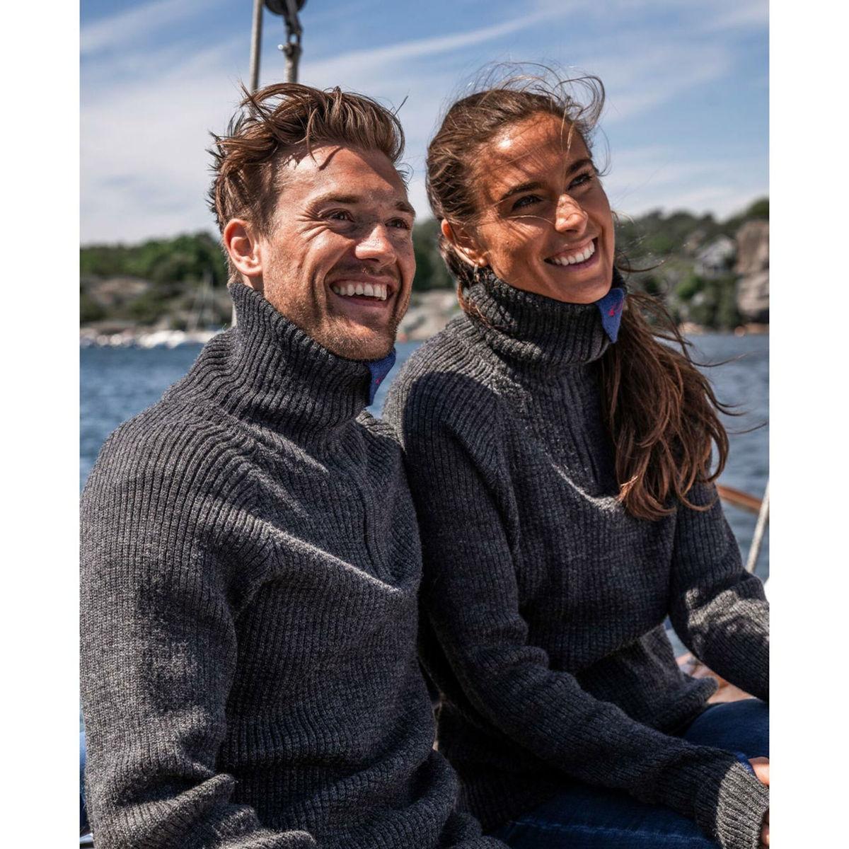 Bilde av Ulvang  Rav sweater w/zip 77005-1110X charcoal melange UNISEX