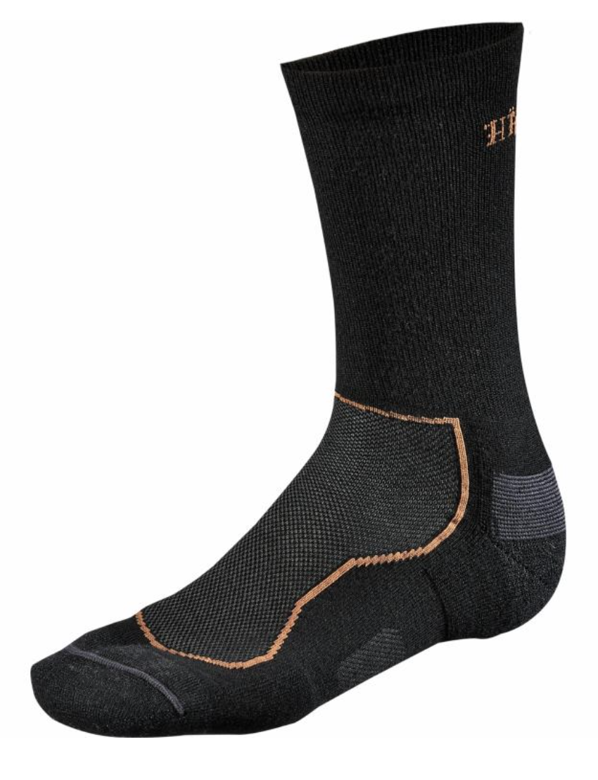 Bilde av Härkila All season wool sokk Sort XL (45.5-50)