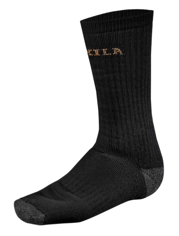 Bilde av Härkila Expedition sokk Black L (42.5-45)