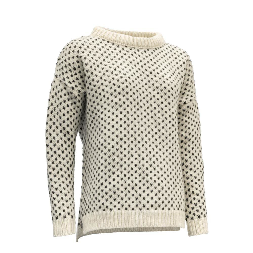 Bilde av Devold  Nordsjø Womans Split Seam Sweater 000A Offwhite