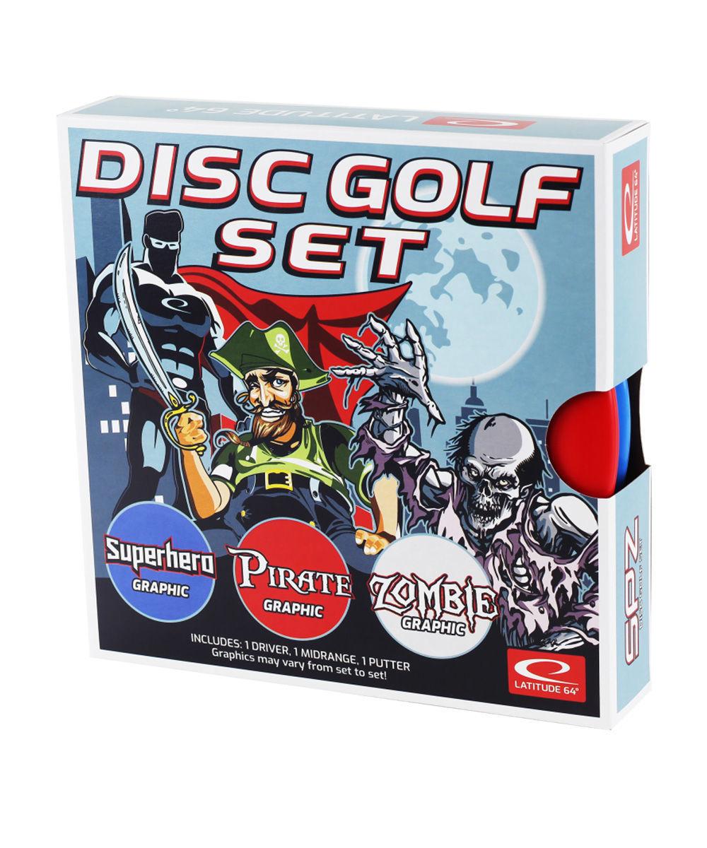 Bilde av Latitude 64 Disc golf sett