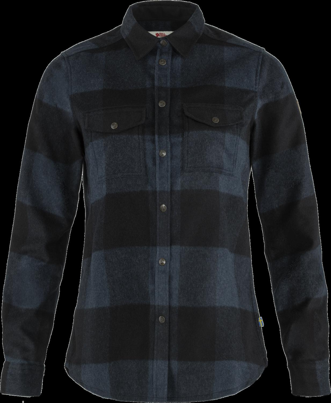 Bilde av Fjällräven  Canada Shirt W 560-550 Navy-Black