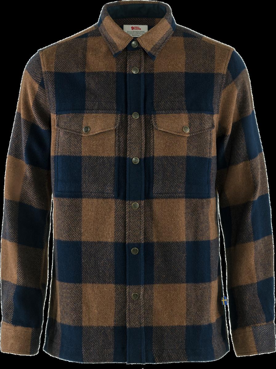 Bilde av Fjällräven  Canada Shirt M 230-555 Chestnut-Dark Navy