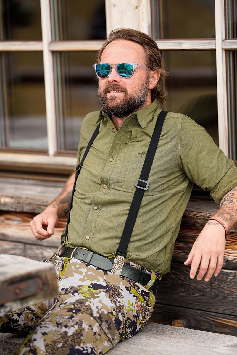 """Bilde av Blaser Suspenders Black """"Sele"""""""