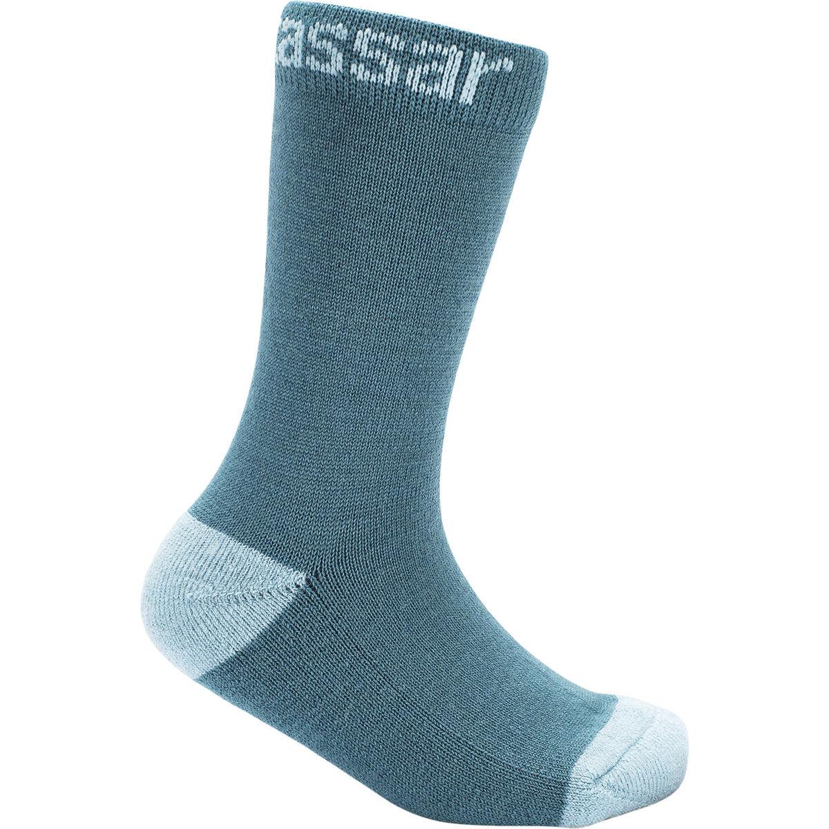 Bilde av 2PK Vossatassar Wool Socks TEAL 411064