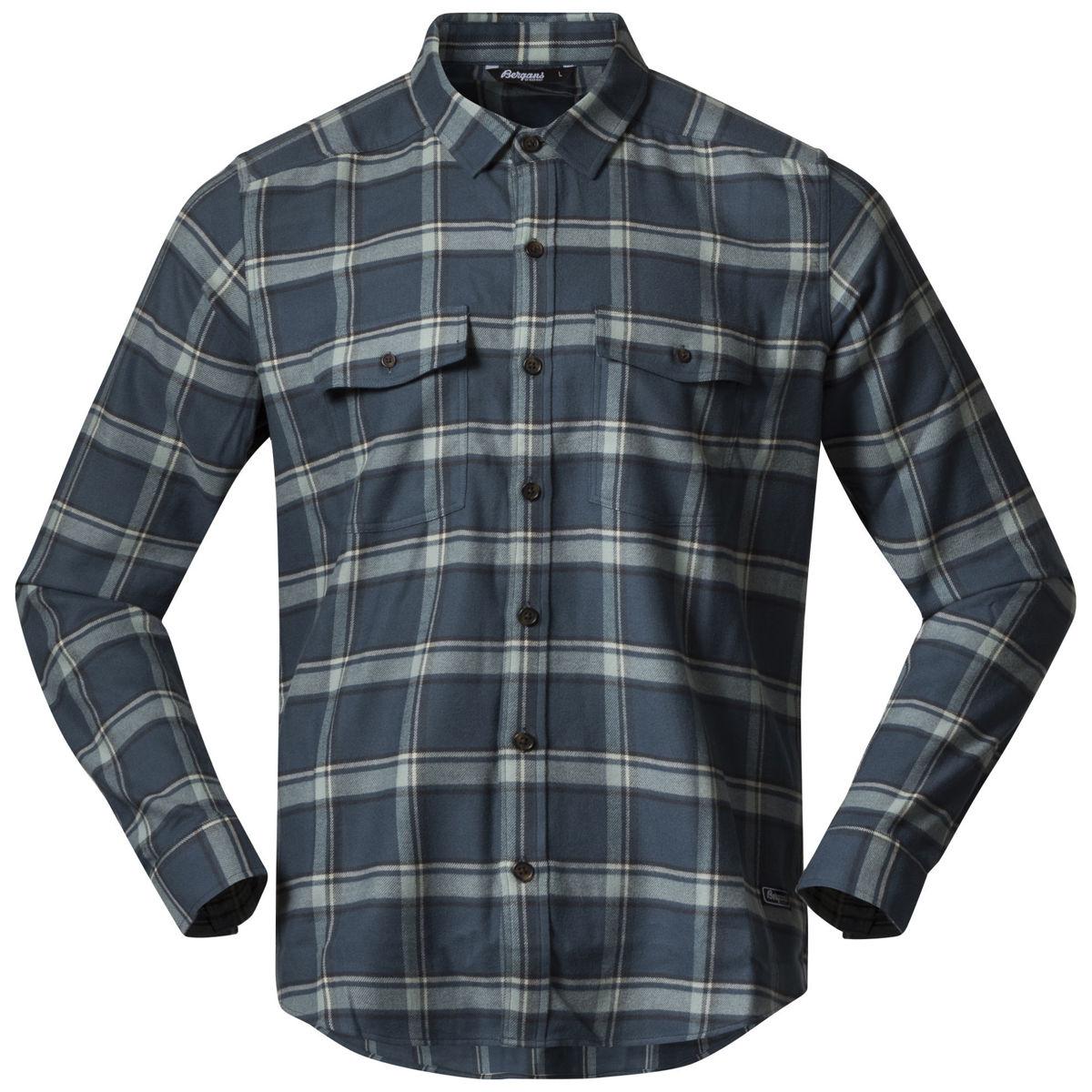 Bilde av Bergans  Tovdal Shirt 21509 Orion Blue/Misty Forest