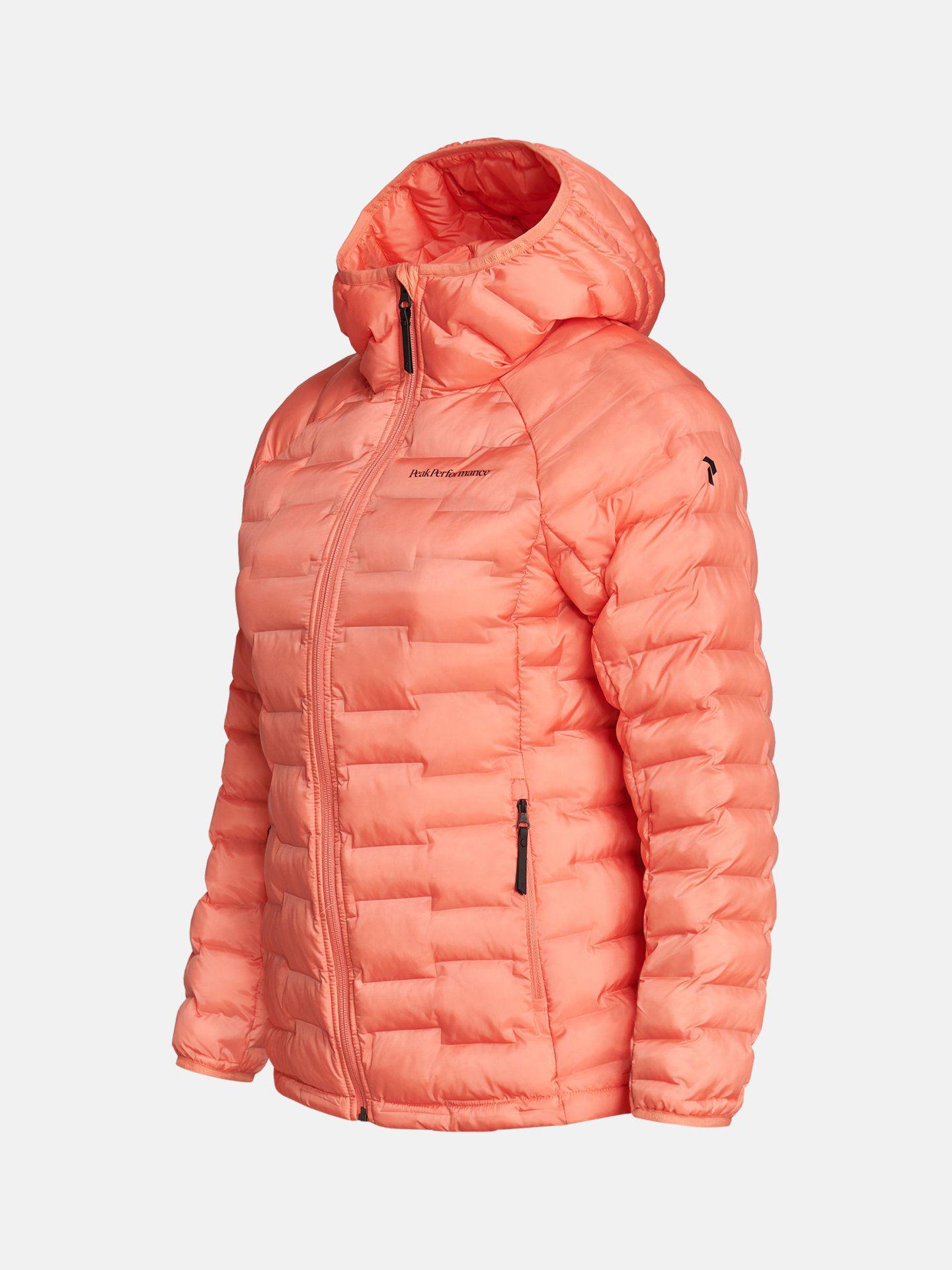 Bilde av Peak Performance  W Argon Light Hood Jacket 060 Light Orange