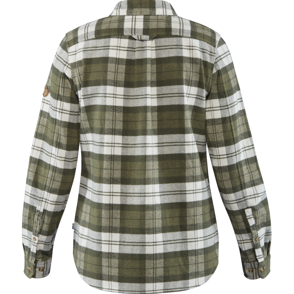 Bilde av Fjällräven  Övik Heavy Flannel Shirt W 620 Green