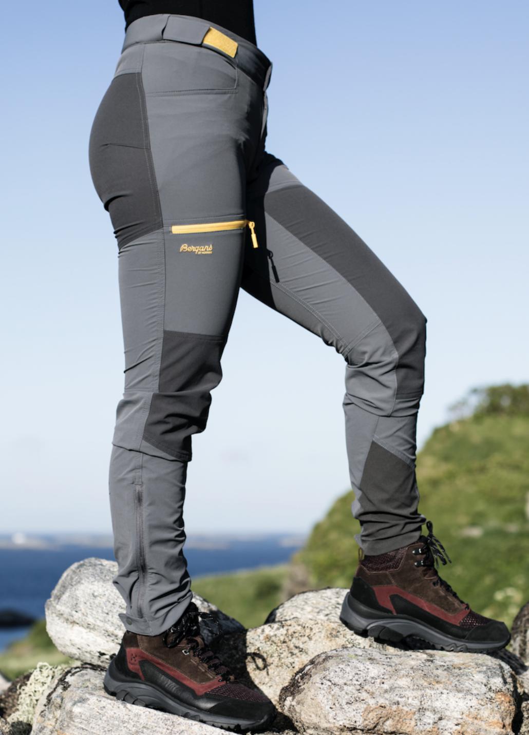 Bilde av Bergans  Cecilie Mtn Softshell Pants 13439 Solid Dark Grey/solid Charcoal