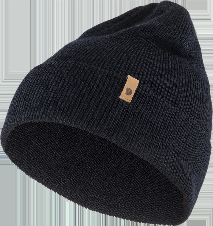 Bilde av Fjällräven  Classic Knit Hat 555 Dark Navy