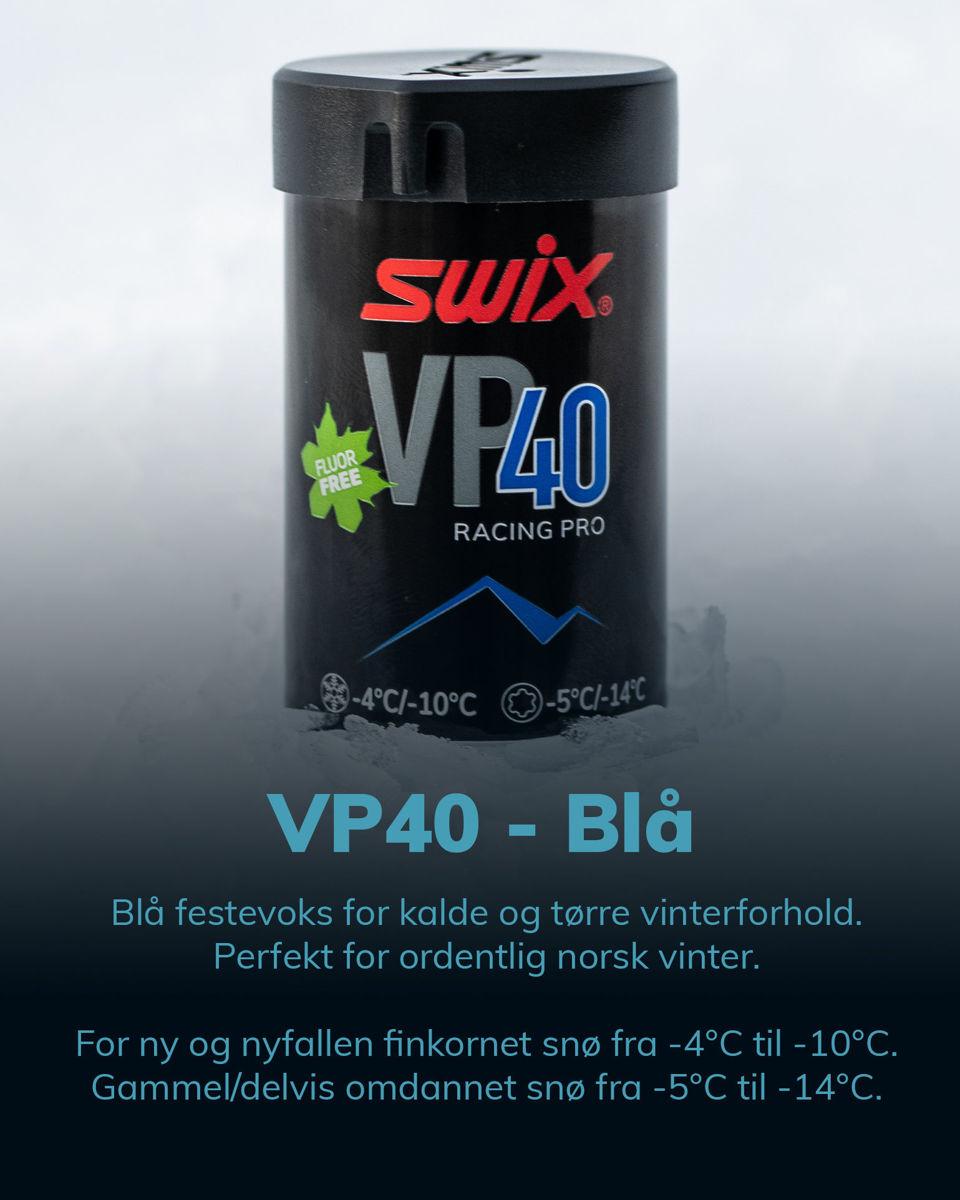 Bilde av Swix  VP40 Pro Blue -10/-4 45G