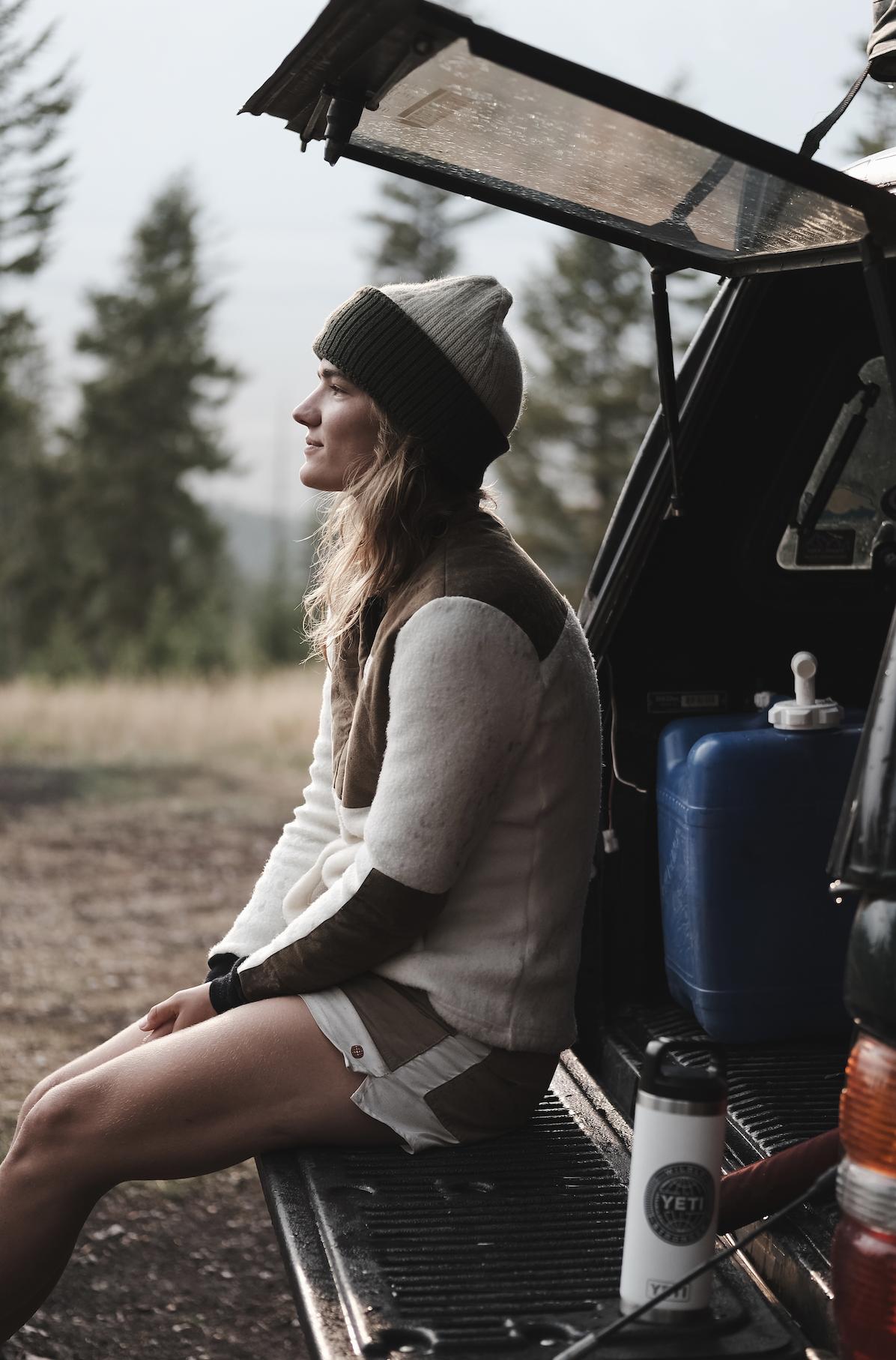 Bilde av AMUNDSEN Field Fleece Wool Womens 610 Natural