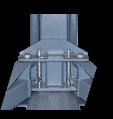 2-søylet løftebukk fra Nordic Lift