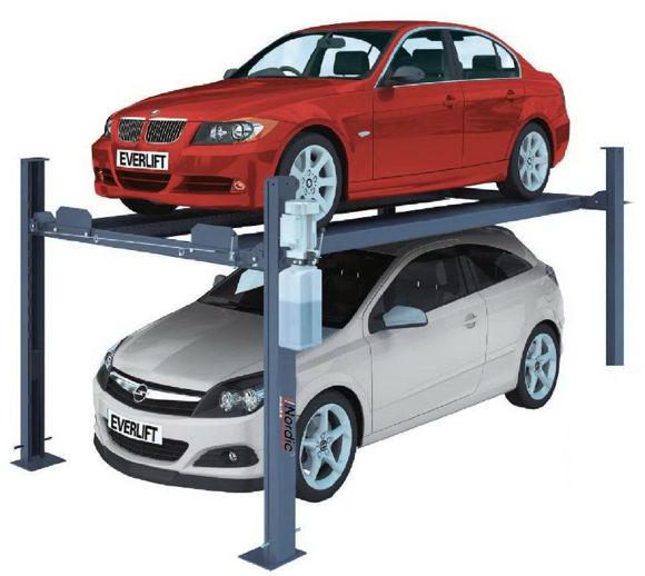 Hydraulisk drevet parkeringsløfter
