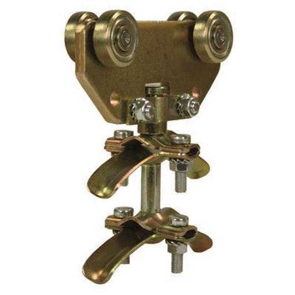 Nordic Lift dobbel slangevogn - for Cskinne - 8-15mm galvanisert
