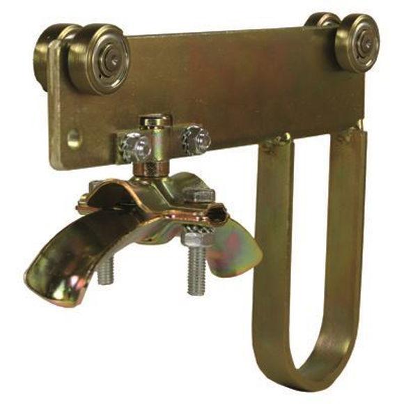 Nordic Lift endebrakett 16-24mm for C skinne - galvanisert