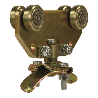 Nordic Lift enkel slangevogn 16-24 mm for C skinne -galvanisert