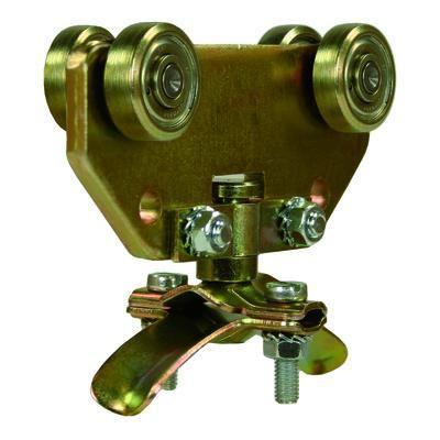Nordic Lift enkel slangevogn 8-15mm - for C skinne - galvanisert