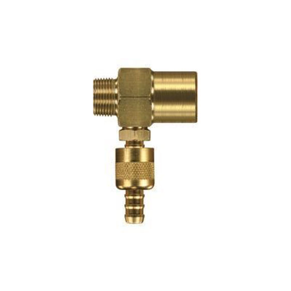 Nordic Lift Injektor 2,1 E:IG 3/8-A:AG 3/8 mit Reg
