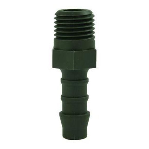 "Nordic Lift slangestuss plast 1/4""-6mm"