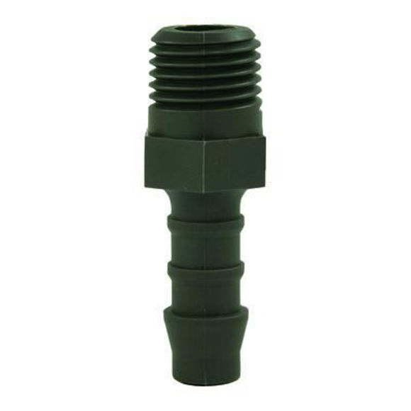 "Nordic Lift slangestuss plast 1/4""-8mm"