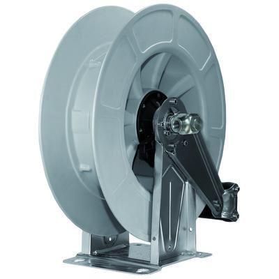 Nordic Lift slangetrommel høytrykk rustfri Pvc - grå