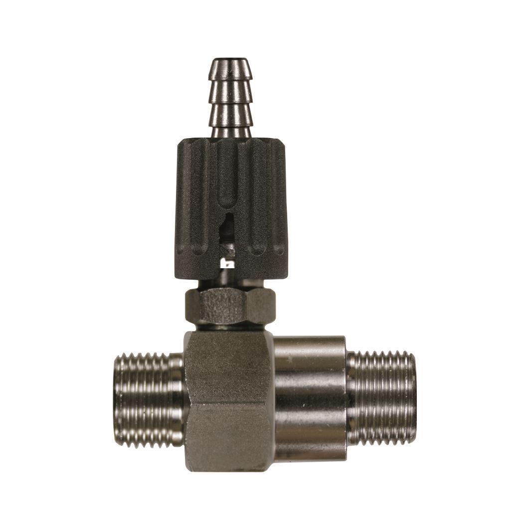 Nordic Lift Injektor 3/8AG 2,1 Edelstahl +Regulier.