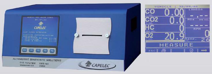 Nordic lift combimåler bensin diesel capelec