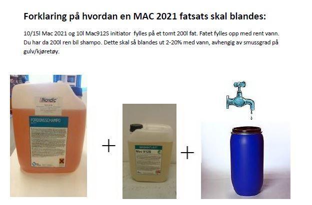 shampo fatsats nordic lift macserien