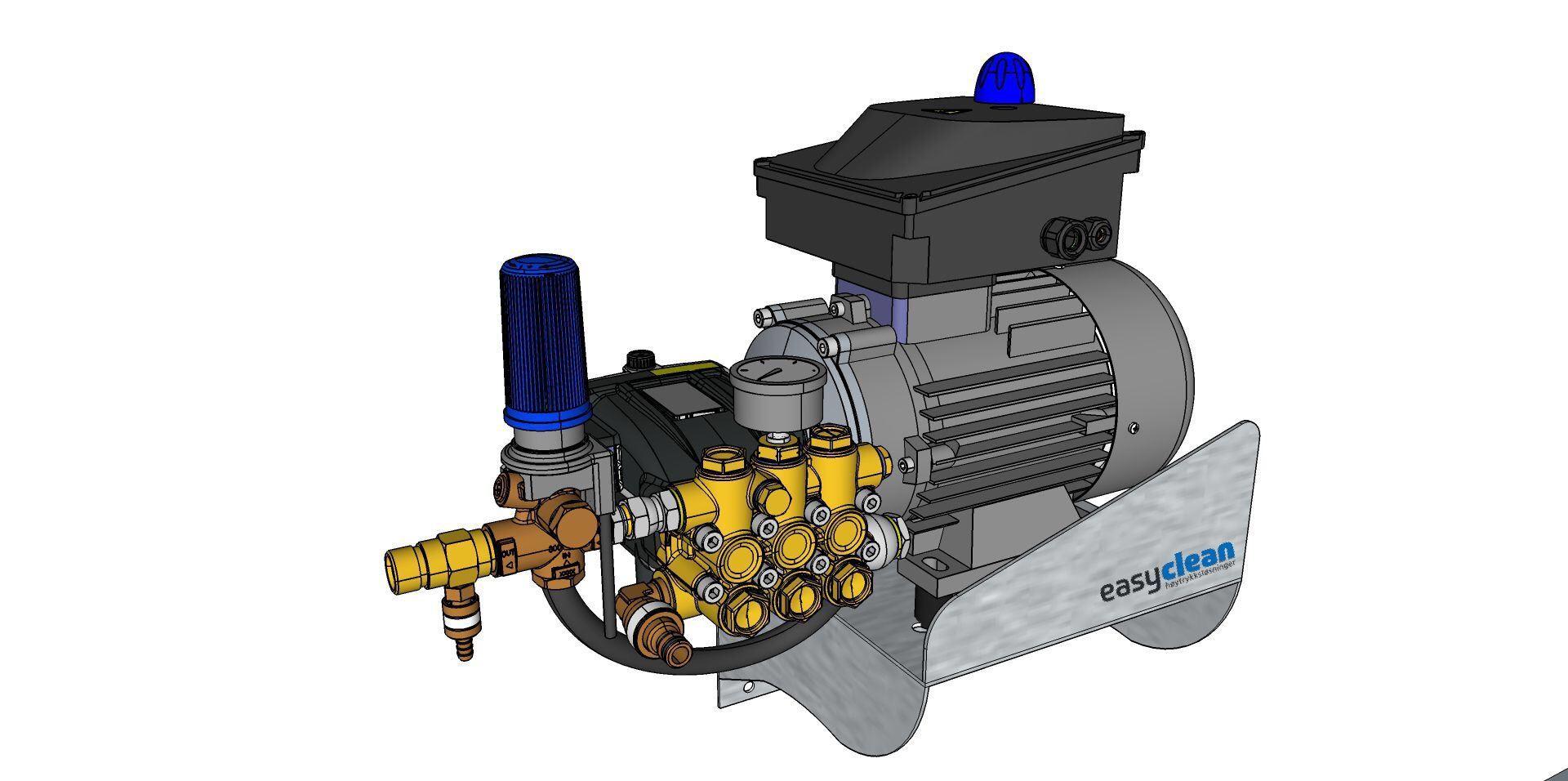 EasyClean Høytrykk motorpumpe