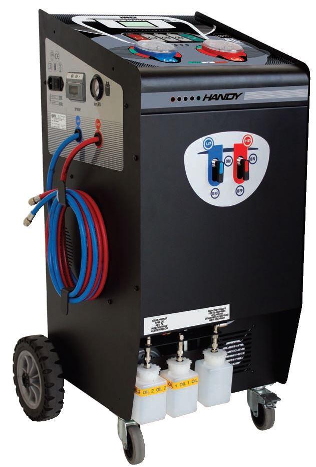 Spin Handy AC maskin R134A m/printer nordic lift ac maskin