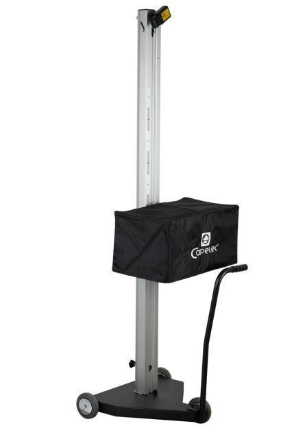 Nordic Capelec lysjusteringsapparat cap2600 periodisk kontroll lysjustering akkreditert lysjustering digital