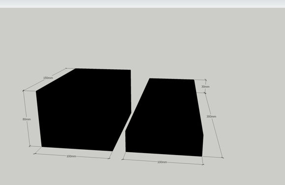 Bilde av Gummipad kit. 4 Lange tynne og 4 korte tykke
