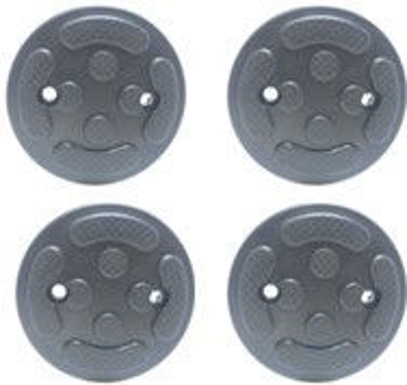 Gummipad kit (4stk) for 2 søyler standard 3,2  til  4,2 tonn