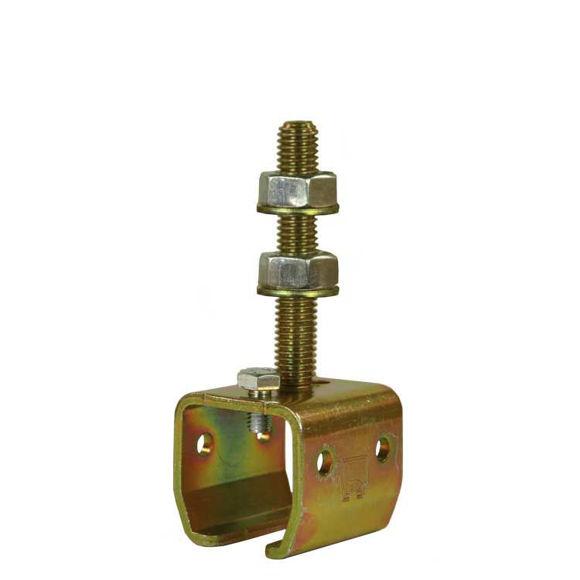 brakett for su1078081 - for C skinne - galvanisert