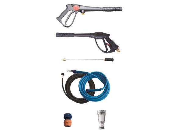 Easy Clean Midia Høytrykksvasker Mobil Kaldtvann 160 Bar.15Ltr  230 Volt 3-fas