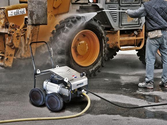 Easy Clean Maxima Høytrykksvasker Mobil Kaldtvann 200 Bar.20 Ltr  230  Volt 3-fas