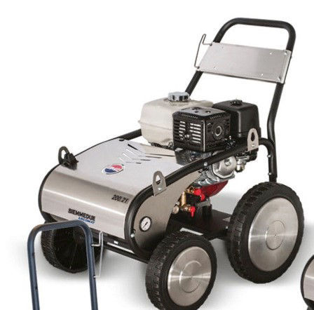 Høytrykksvasker Mobil Kaldtvann Bensin Mobil 200 Bar. 21 Ltr