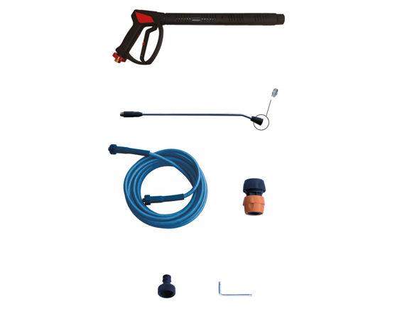 Easy Clean Modula Plus -inkl.flexkupling Høytrykksvasker Stasjonær Kaldtvann 200 Bar. 21Ltr  230/400 Volt 3-fas