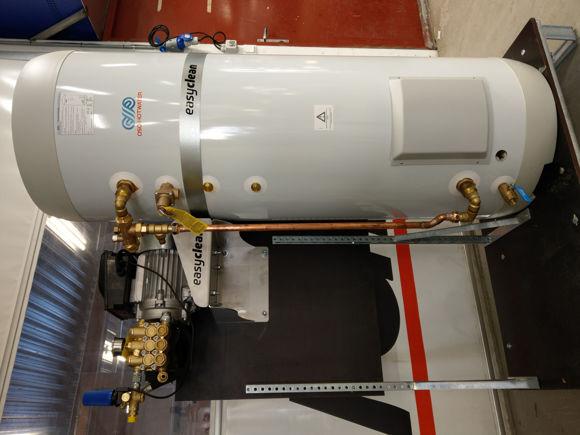 EasyClean MotorPumpe (21ltr/min 150bar) + 300ltr 15Kw varmtvannsbereder.