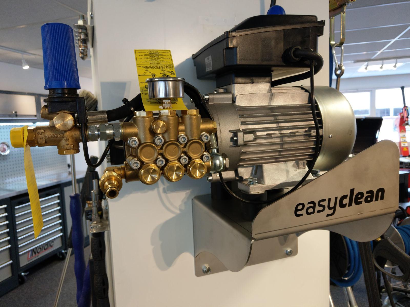 easyclean motorpump 150/15 -230/400-u/tilbehør og brakett