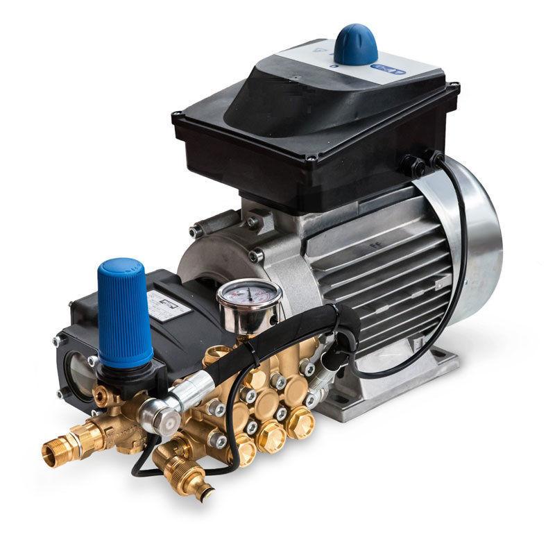 5,5 Kw motorpump-150bar-21ltr/min.- 400/230V 3-fas -uten Brakett og tilbehør.