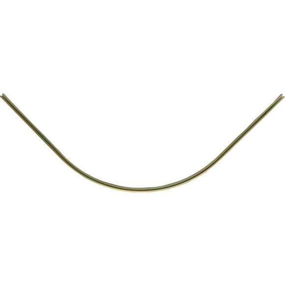 C skinne Un rails - radius 500mm - galvanisert