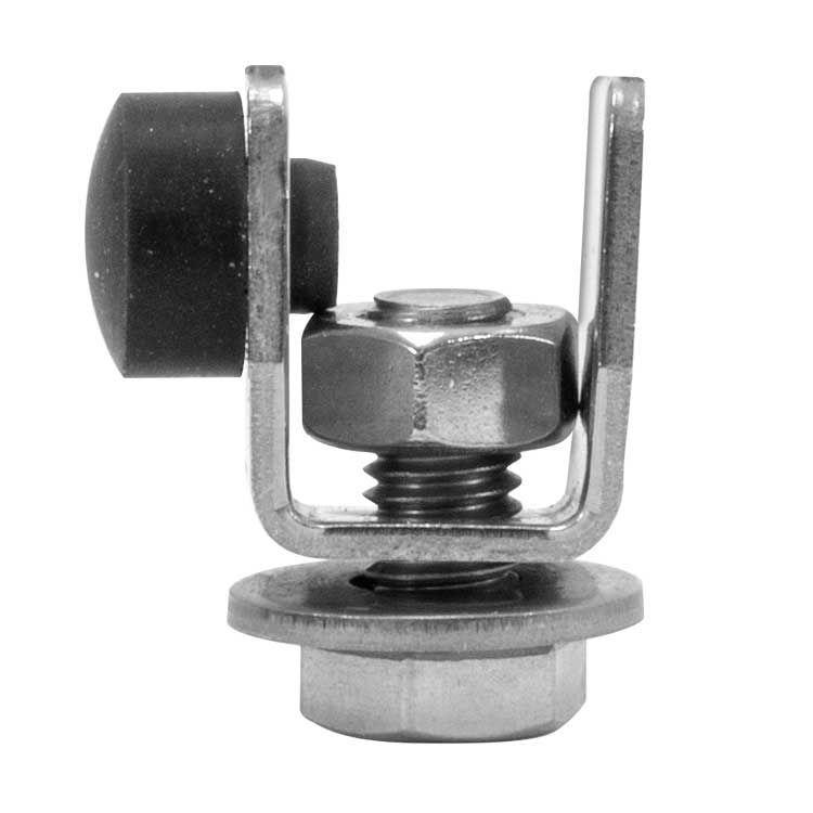 endestykke - bumpers for Cskinne - galvanisert