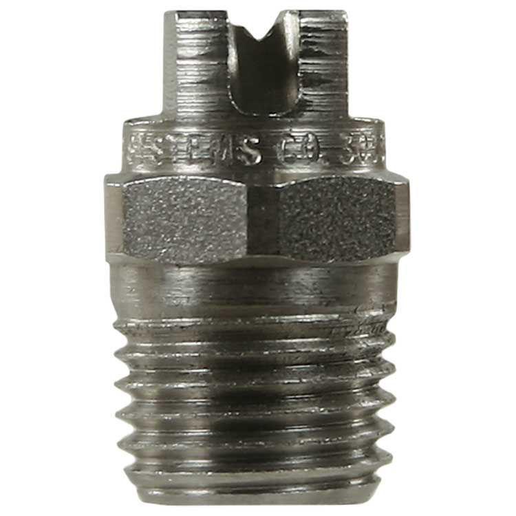 "Dyse meg 1/4"" 6501  Sprayvinkel: 65 ° Effekt = 100% Materiale: Rustfritt stål"