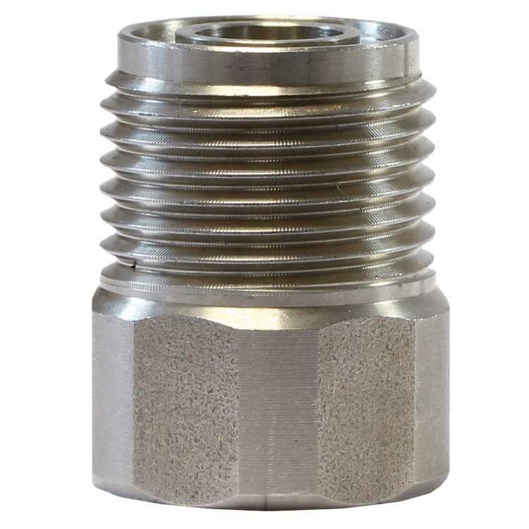 """adapter for skumhode st75 -SS- 1/4""""FxM18M -dyseholder"""
