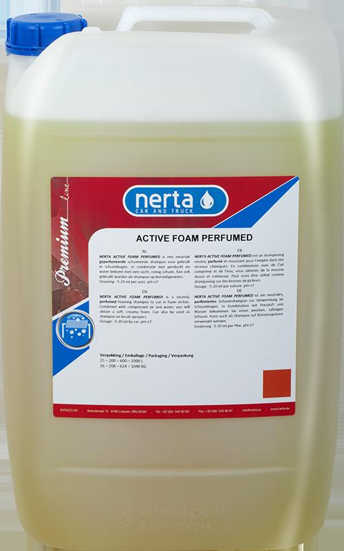 Nerta Active Foam Perfume